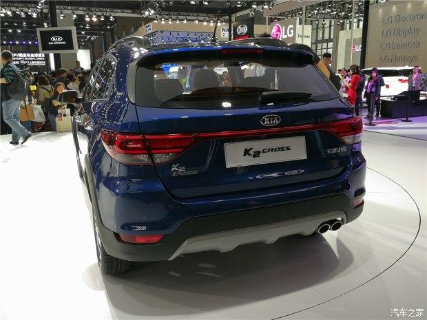 Vén màn crossover nhỏ xinh và giá mềm Kia K2 Cross - Ảnh 4.