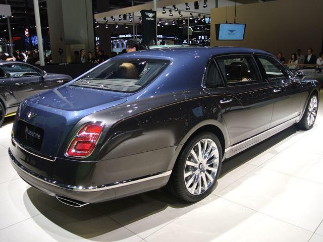 Xe siêu sang Bentley Mulsanne phiên bản vàng ra mắt nhà giàu Trung Quốc - Ảnh 4.