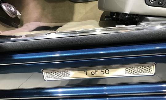 Xe siêu sang Bentley Mulsanne phiên bản vàng ra mắt nhà giàu Trung Quốc - Ảnh 7.
