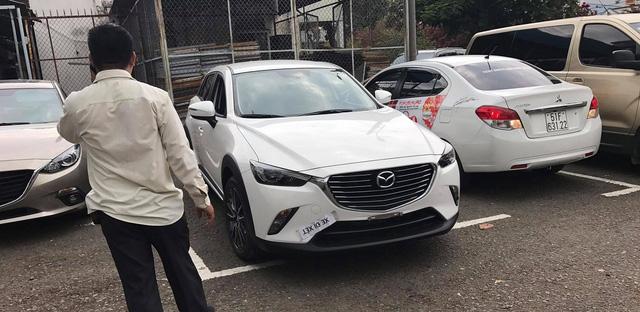 Crossover hạt tiêu Mazda CX-3 đầu tiên ra biển số tại Việt Nam - Ảnh 1.