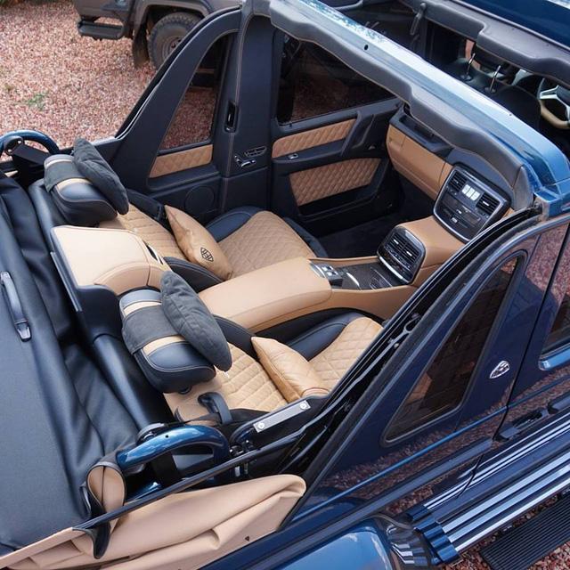 SUV siêu sang Mercedes-Maybach G650 Landaulet bị làm giá đến 32,1 tỷ Đồng - Ảnh 4.