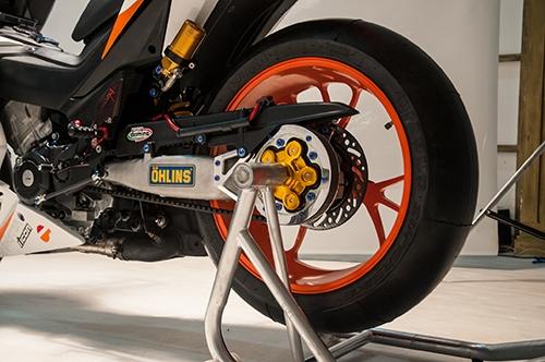 Honda Winner 150 độ theo phong cách mô tô đua tại Việt Nam được lên báo Tây - Ảnh 4.
