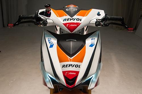 Honda Winner 150 độ theo phong cách mô tô đua tại Việt Nam được lên báo Tây - Ảnh 7.