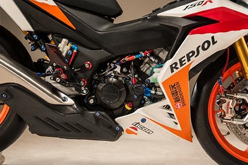 Honda Winner 150 thì nên sử dụng dầu nhớt xe côn tay nhập khẩu