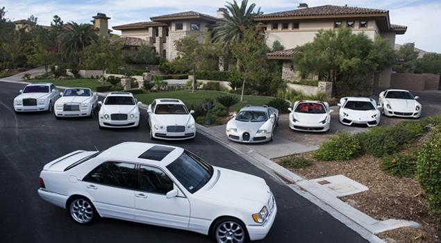 Võ sỹ triệu phú Floyd Mayweather khoe dàn 6 xe Rolls-Royce khiến ai cũng phát hờn - Ảnh 5.