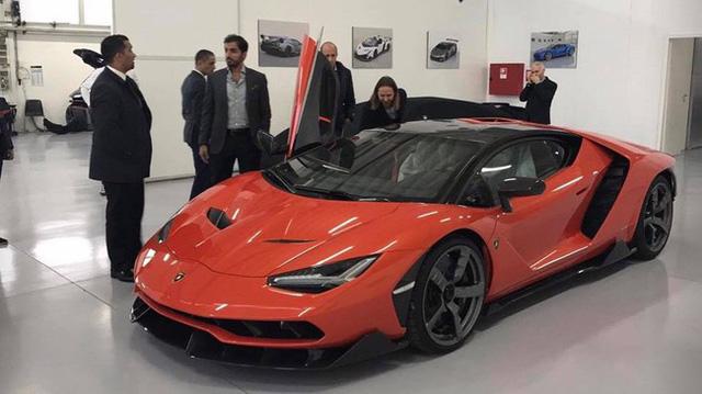 Cận cảnh siêu phẩm Lamborghini Centenario đầu tiên đặt chân đến Mỹ - Ảnh 12.