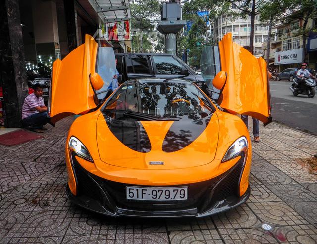Đại gia Việt sẽ phải nộp lệ phí trước bạ cao nhất 2,64 tỷ Đồng khi mua siêu xe McLaren 650S Spider - Ảnh 1.
