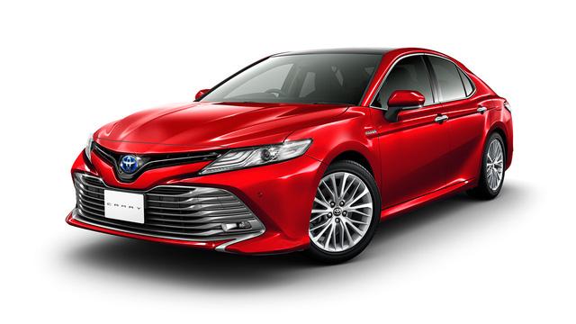 Bắt gặp Toyota Camry 2018 có thể về Việt Nam trên đường phố - Ảnh 3.