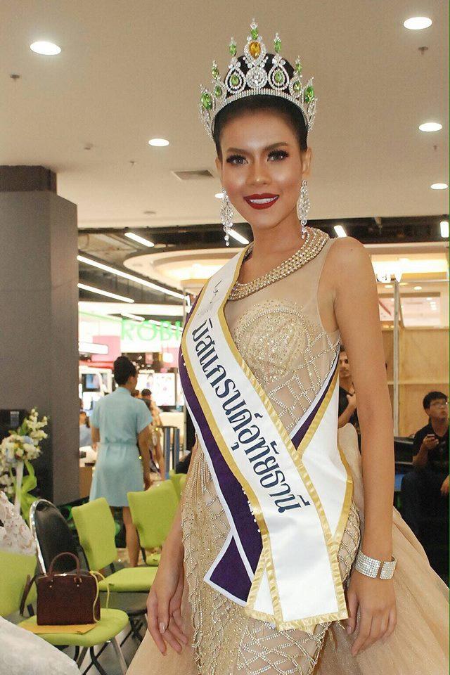 Hoa hậu Thái Lan tử vong vì tai nạn giao thông sau 4 ngày đăng quang - Ảnh 1.