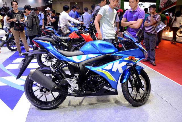 Mô tô thể thao Suzuki GSX-R150 được chốt giá 74,99 triệu Đồng tại Việt Nam - Ảnh 2.