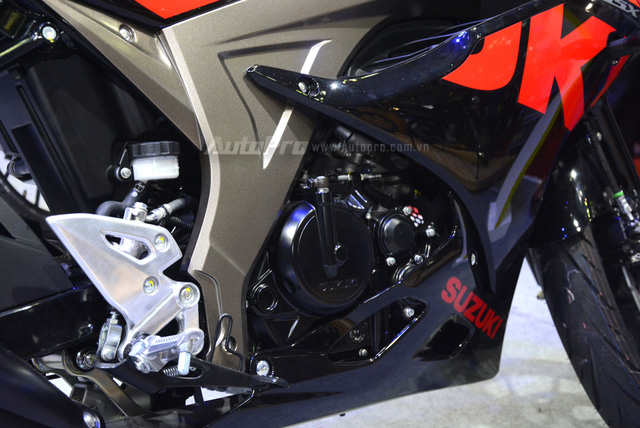 Mô tô thể thao Suzuki GSX-R150 được chốt giá 74,99 triệu Đồng tại Việt Nam - Ảnh 4.