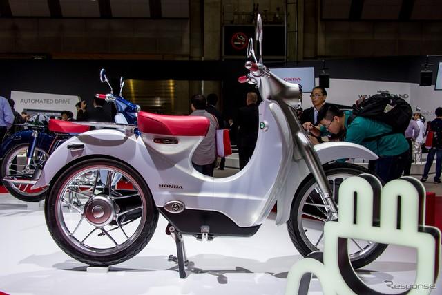 Phiên bản thương mại của Honda EV Cub từng ra mắt Việt Nam sẽ trình làng vào năm sau - Ảnh 2.