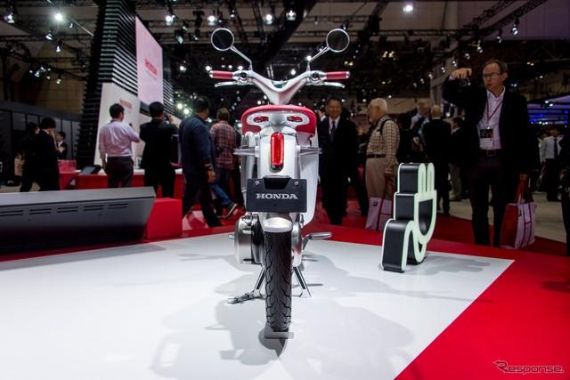 Phiên bản thương mại của Honda EV Cub từng ra mắt Việt Nam sẽ trình làng vào năm sau - Ảnh 3.