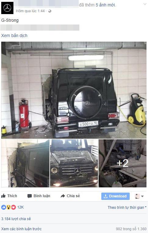 Đây là vụ tai nạn khiến nhiều người ca ngợi SUV hạng sang Mercedes-Benz G-Class - Ảnh 1.