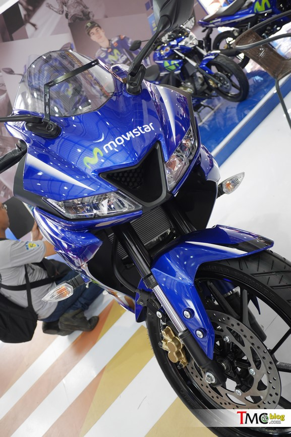 Mô tô thể thao Yamaha R15 3.0 có thêm phiên bản Movistar mới - Ảnh 11.