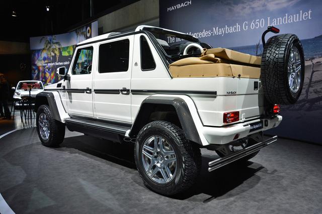 Bắt gặp SUV siêu sang Mercedes-Maybach G650 Landaulet chạy trên đường phố - Ảnh 3.