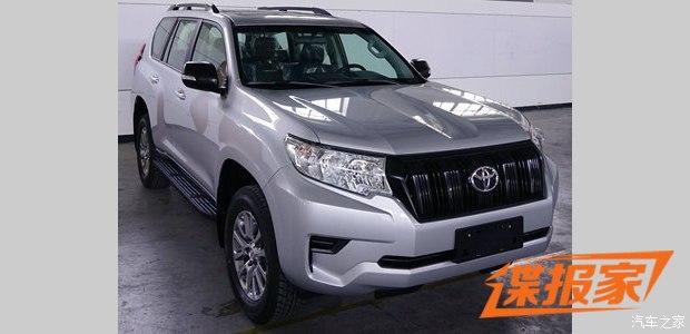 Lần đầu diện kiến Toyota Land Cruiser Prado 2018 bằng xương, bằng thịt - Ảnh 1.