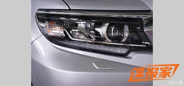 Lần đầu diện kiến Toyota Land Cruiser Prado 2018 bằng xương, bằng thịt - Ảnh 3.