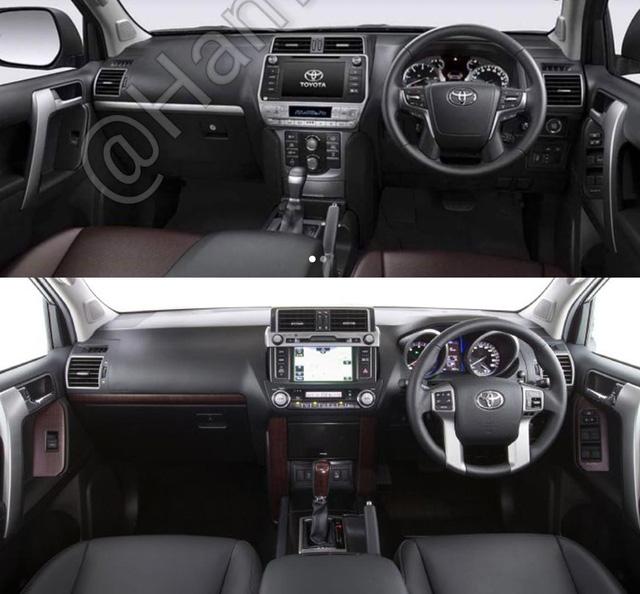 Lần đầu diện kiến Toyota Land Cruiser Prado 2018 bằng xương, bằng thịt - Ảnh 5.