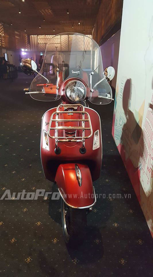 Vespa GTS 300 được chốt giá 120 triệu Đồng tại Việt Nam, rẻ hơn một nửa so với Honda SH300i - Ảnh 4.
