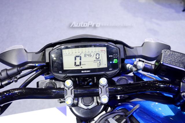 Naked bike Suzuki GSX-S150 có giá từ 68,9 triệu Đồng tại Việt Nam, rẻ hơn nhiều so với Yamaha TFX150 - Ảnh 6.