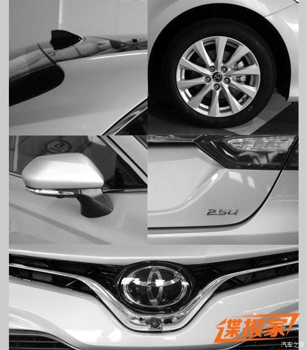 Toyota Camry 2018 phiên bản dành cho thị trường Trung Quốc lộ diện - Ảnh 3.