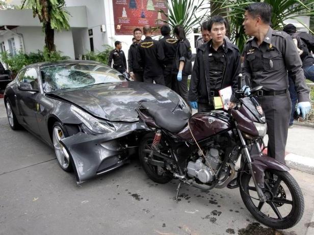 5 năm sau vụ lái siêu xe Ferrari FF đâm tử vong cảnh sát, người thừa kế tập đoàn Red Bull bị Interpol truy nã - Ảnh 2.