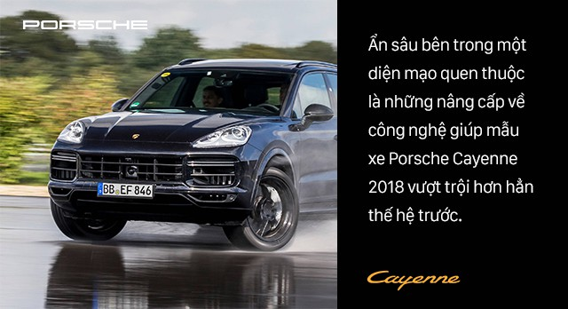 Mổ xẻ Porsche Cayenne 2018: Đột phá công nghệ trong từng tiểu tiết - Ảnh 1.