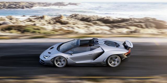Lamborghini Centenario mui trần 2 triệu USD đầu tiên cập bến Mỹ - Ảnh 2.