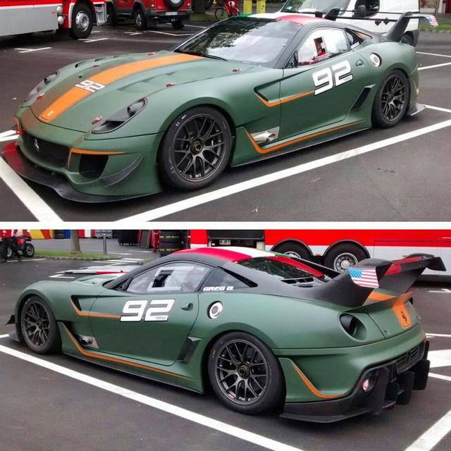 Sau Pagani Huayra BC hàng thửa, thánh cuồng màu xanh tậu thêm chiếc Ferrari F12tdf - Ảnh 3.