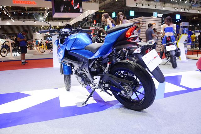 Cận cảnh phiên bản Touring của Suzuki GSX-S150 mới ra mắt Việt Nam - Ảnh 9.