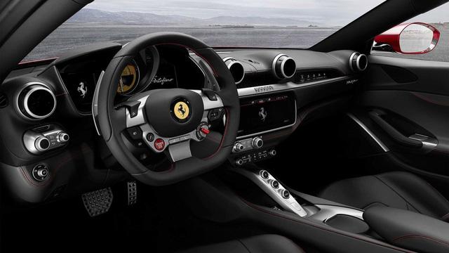 Siêu xe mui trần Ferrari Portofino được giới thiệu riêng cho các khách hàng VIP - Ảnh 11.
