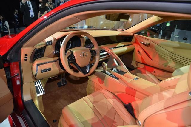 Xe thể thao Lexus LC500 2018 đầu tiên về Việt Nam - Ảnh 6.