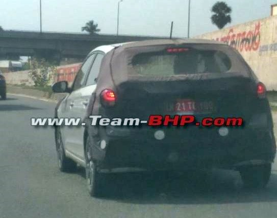 Hyundai i20 facelift bị bắt gặp trên đường chạy thử - Ảnh 3.
