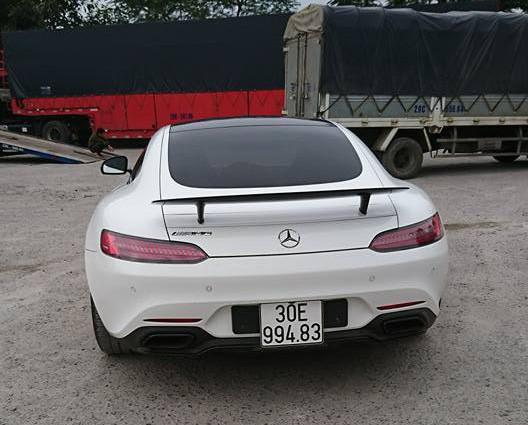 Mercedes-AMG GTS Edition 1 màu trắng đầu tiên về Việt Nam - Ảnh 3.