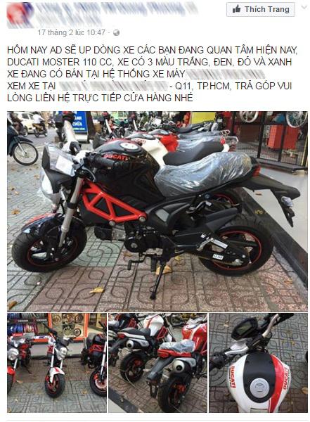 Xôn xao với Ducati Monster 110 giá 38 triệu Đồng tại Việt Nam - Ảnh 7.