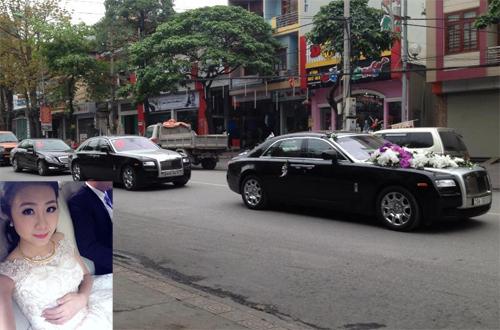 Hàng chục chiếc Lexus LX570 và Range Rover tham gia rước dâu hot girl Quảng Ninh - Ảnh 5.