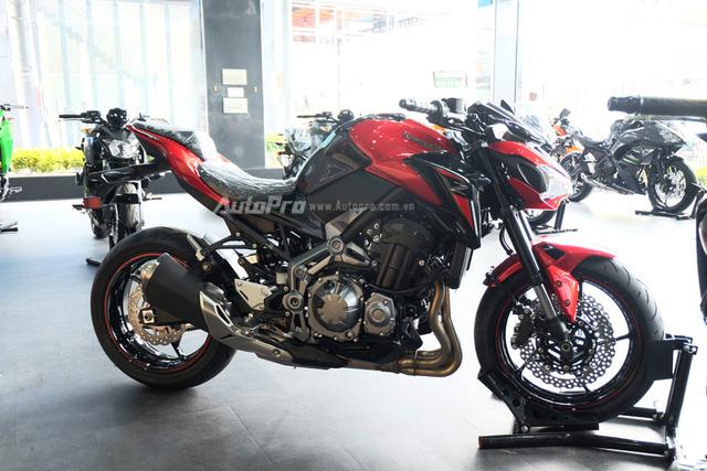 Kawasaki Z900 2018 về Việt Nam, thêm màu sơn mới, giá không đổi - Ảnh 7.