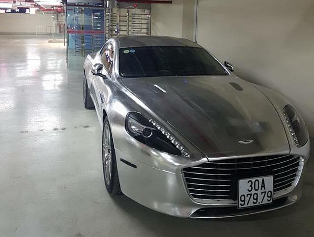 Sau lùm xùm biển giả, thiếu gia Ninh Bình thay áo mới cho Aston Martin Rapide S - Ảnh 3.