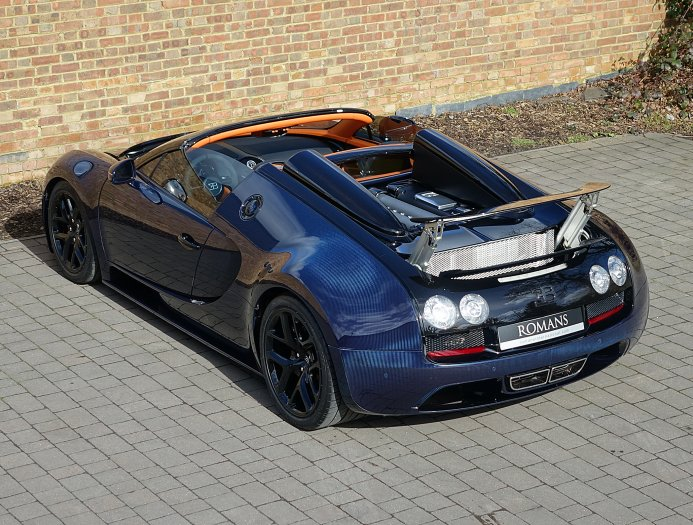 bugatti veyron grand sport vitesse ch y g n km. Black Bedroom Furniture Sets. Home Design Ideas