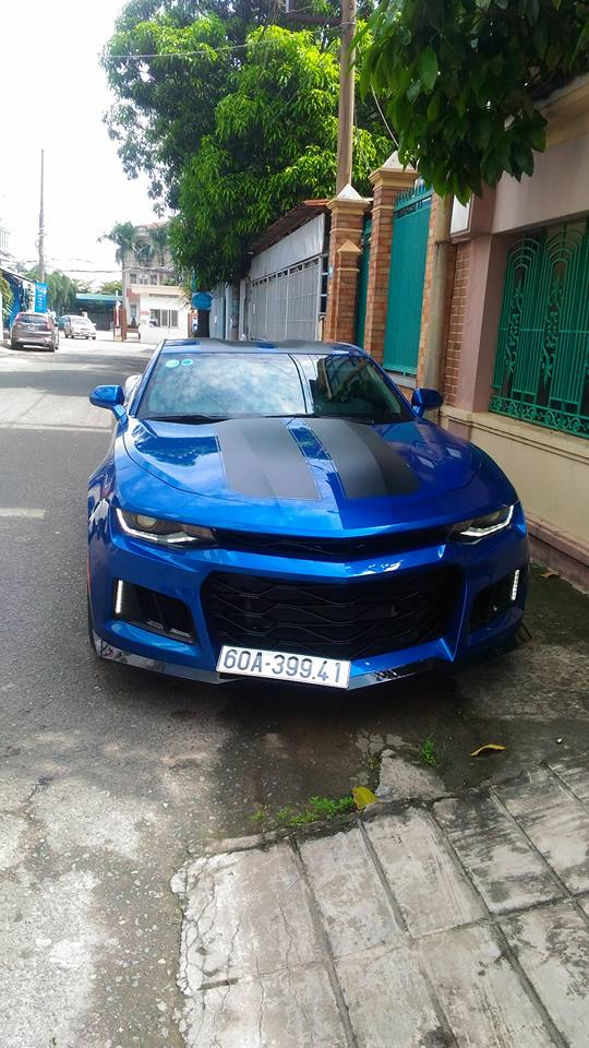 Vừa tậu Chevrolet Camaro 2017 2,7 tỷ Đồng, tay chơi Đồng Nai đã lên đời body kit bản ZL1 2018 - Ảnh 4.
