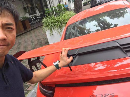 Cường Đô-la cầm lái siêu xe Porsche 911 GT3 RS Coupe độc nhất Việt Nam - Ảnh 1.