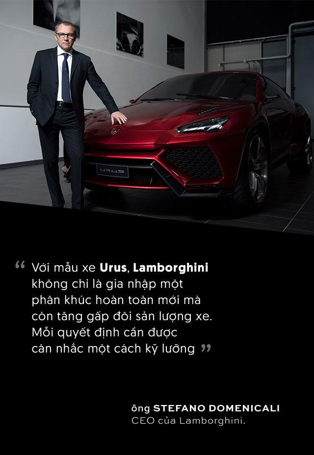 Lamborghini Urus: Siêu SUV ra đời từ bài toán kinh doanh - Ảnh 3.