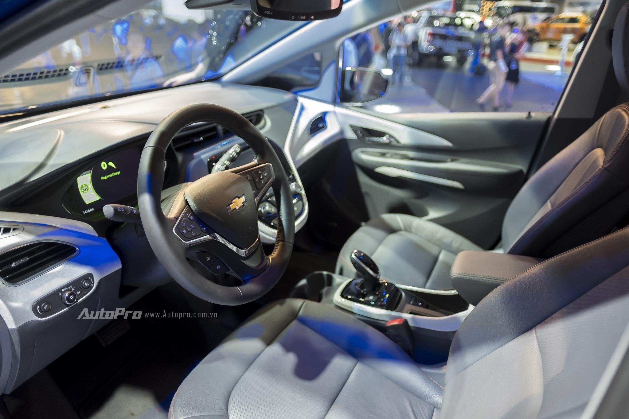 Khám phá xe xanh Chevrolet Bolt EV - Ảnh 11.