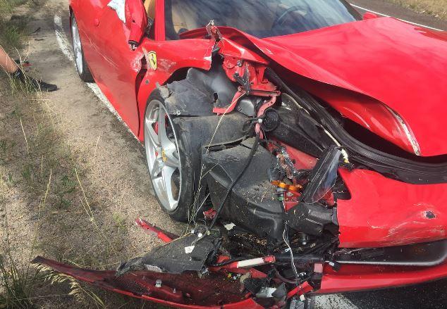 Người thuê siêu xe Ferrari 458 Italia gây tai nạn kinh hoàng - Ảnh 4.