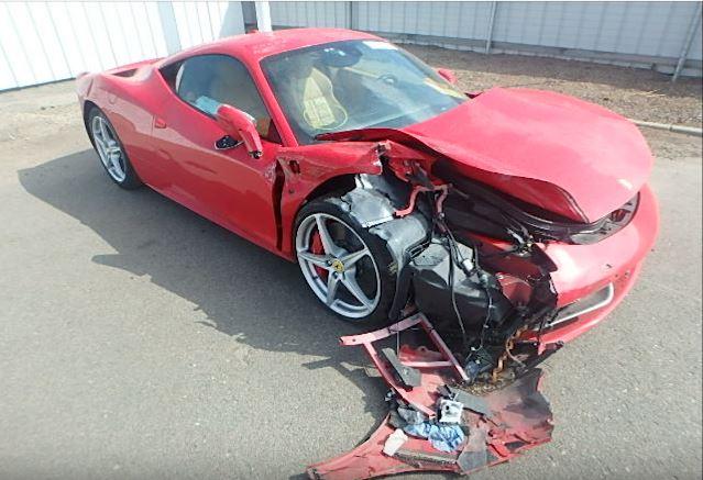 Người thuê siêu xe Ferrari 458 Italia gây tai nạn kinh hoàng - Ảnh 2.