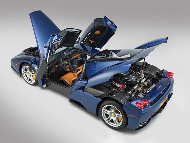 Ferrari Enzo màu cực độc chuẩn bị cho lên sàn - Ảnh 3.