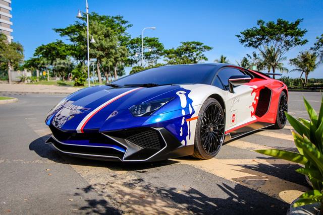 Minh Nhựa chia sẻ video Cường Đô-la cầm lái siêu xe Lamborghini Aventador SV - Ảnh 3.