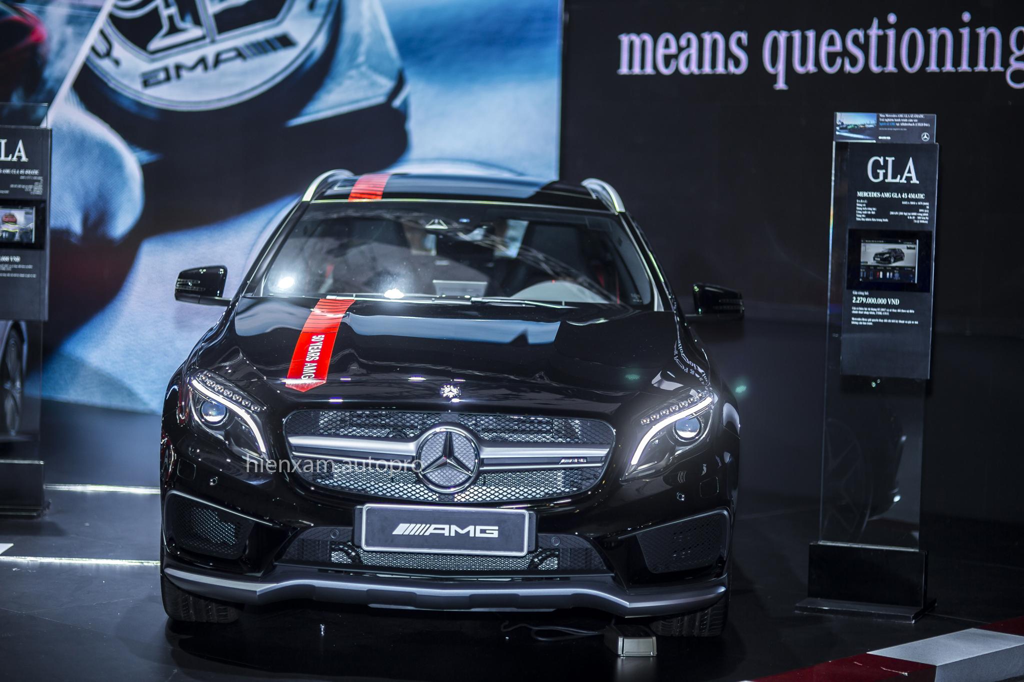 Cận cảnh Mercedes-Benz GLA 45 AMG giá 2,279 tỉ đồng - Ảnh 2.