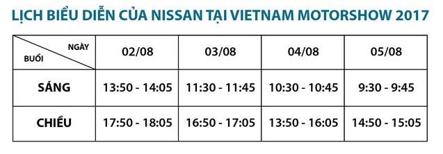 Diện mạo hoàn toàn mới của Nissan tại Vietnam Motor Show 2017 - Ảnh 2.